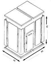 Calculer le prix d une chambre froide industrielle abc for Surface minimum d une chambre